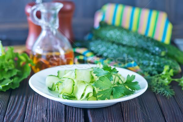 salad cucumber Stock photo © tycoon