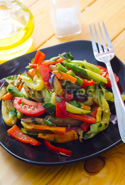 Stir fried variety of vegetables , Thai style food Stock photo © tycoon