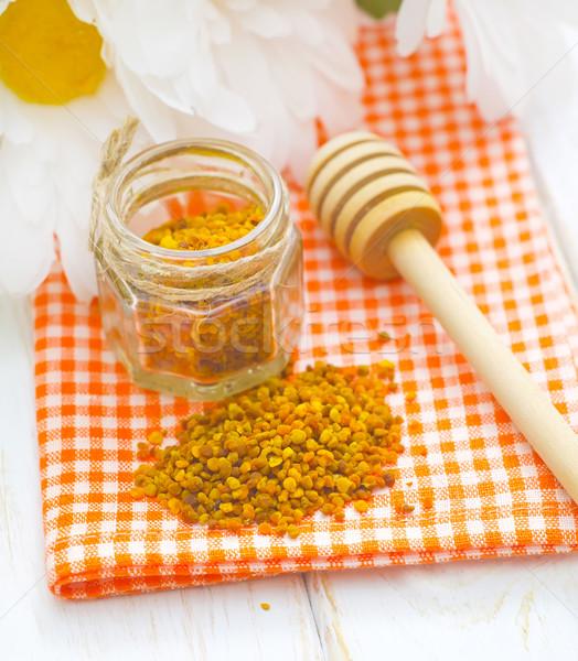 Virágpor méz orvosi gyógyszer méh citrus Stock fotó © tycoon