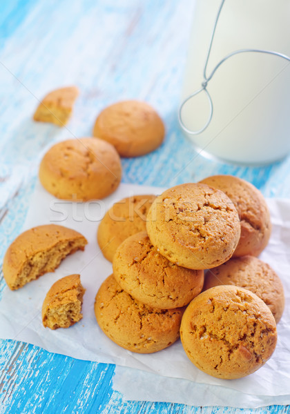 milk with cookies Stock photo © tycoon