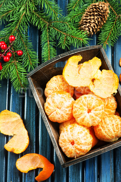 mandarins Stock photo © tycoon