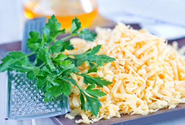 Formaggio grattugiato piatto tavola cucina arancione grasso Foto d'archivio © tycoon
