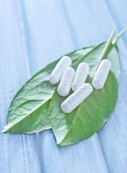 pills Stock photo © tycoon