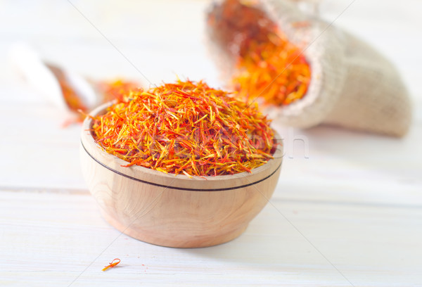 saffron Stock photo © tycoon