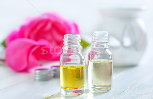 rose oil Stock photo © tycoon