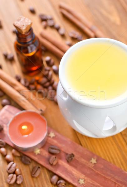 Aroma olaj szépség gyógyszer masszázs jóga Stock fotó © tycoon