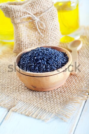 poppy seeds Stock photo © tycoon
