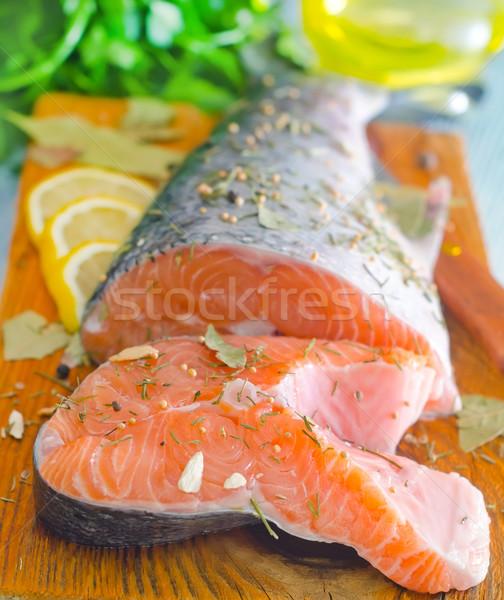salmon Stock photo © tycoon