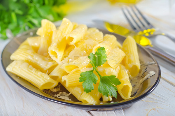 Parmesão comida queijo garfo cozinhar diner Foto stock © tycoon