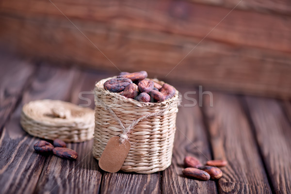 Mesa de madeira secar fundo doce planta Foto stock © tycoon