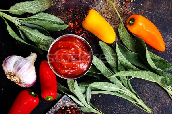sauce Stock photo © tycoon