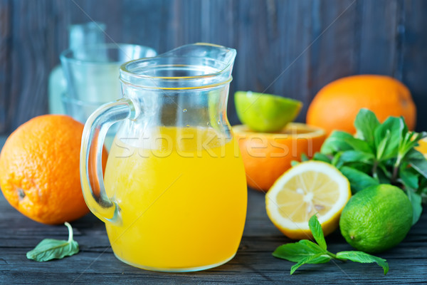 fresh juice Stock photo © tycoon
