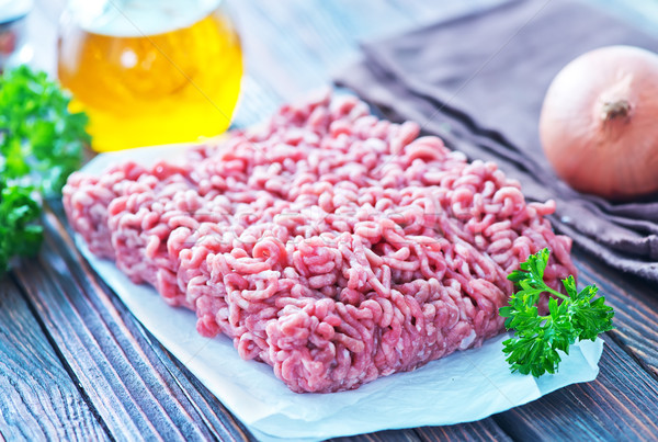 minced meat Stock photo © tycoon