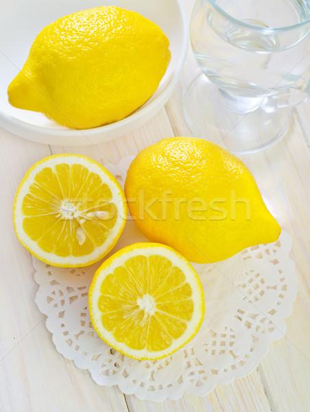 lemons Stock photo © tycoon