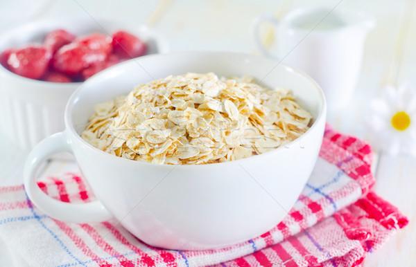 Haver vruchten gezondheid keuken diner Stockfoto © tycoon