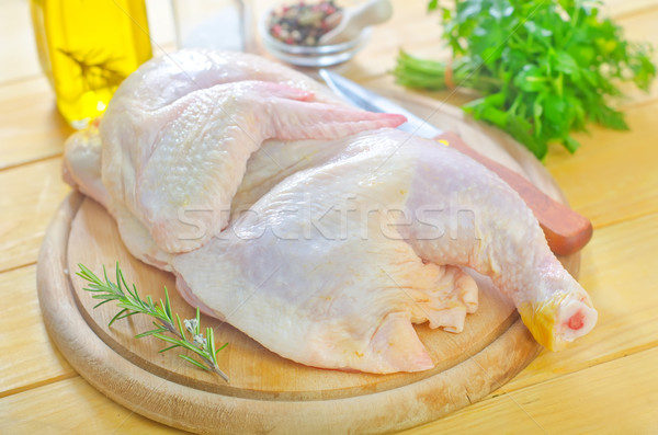 raw chicken Stock photo © tycoon