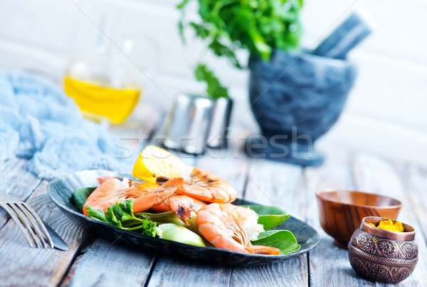 Salade bouilli épices stock photo Photo stock © tycoon