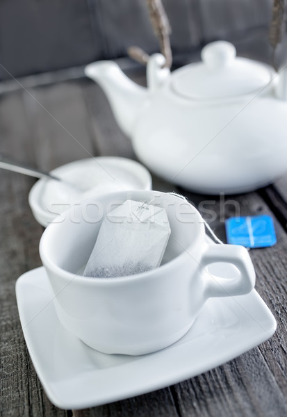 tea in bag Stock photo © tycoon