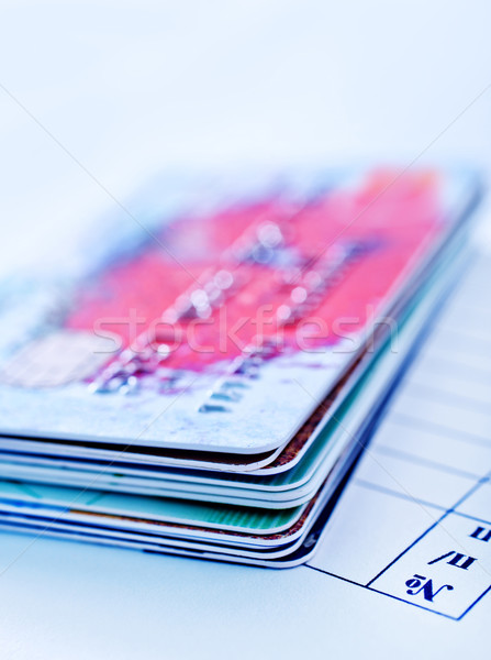 credit cards Stock photo © tycoon