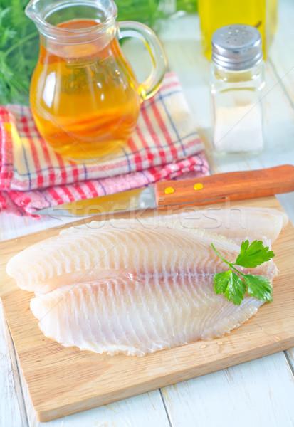 продовольствие нефть обеда красный рыбалки Кука Сток-фото © tycoon
