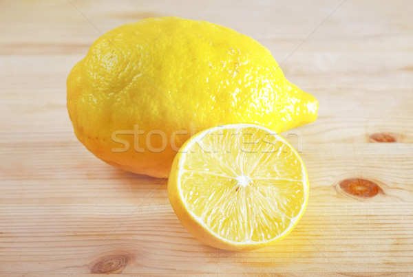 fresh lemon Stock photo © tycoon