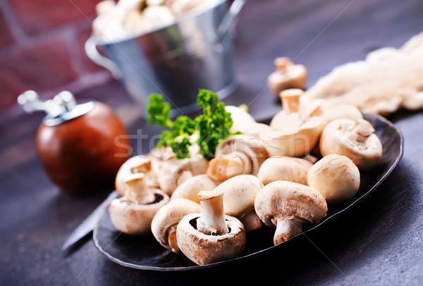 champignons Stock photo © tycoon