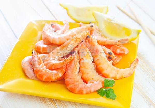 Voedsel groene Rood citroen beker witte Stockfoto © tycoon