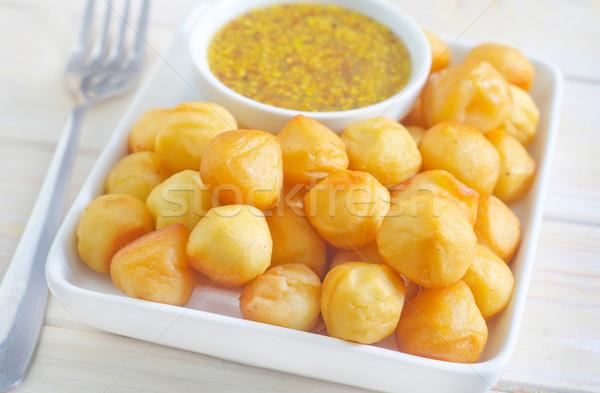 ストックフォト: ジャガイモ · チーズ · ディナー · ランチ · ボウル