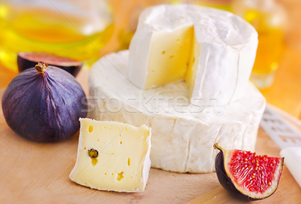 cheese and fig Stock photo © tycoon