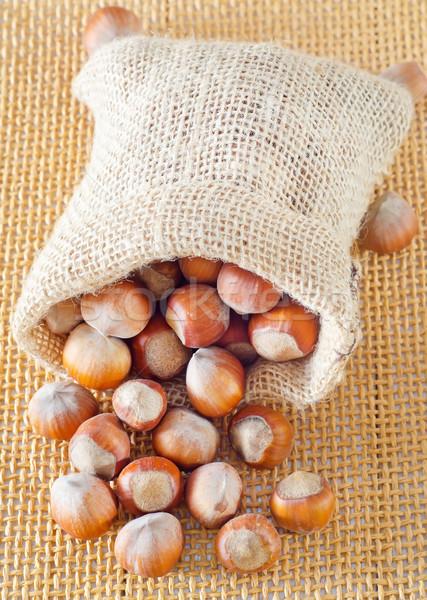 Texture frutta bag autunno caduta Foto d'archivio © tycoon