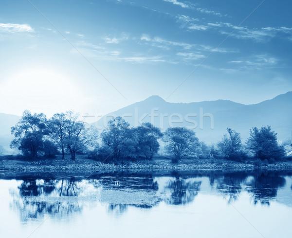 Lake in Crimea Stock photo © tycoon
