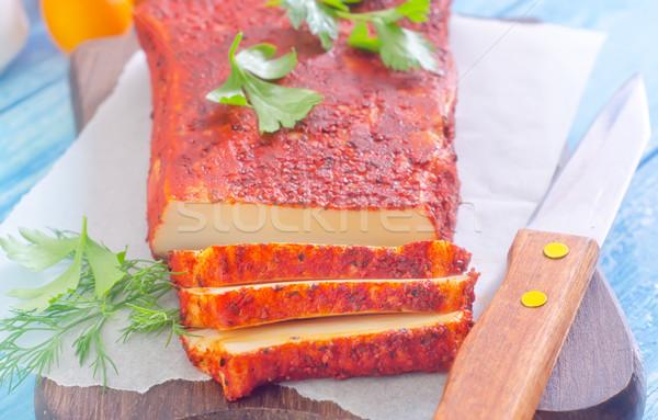 Diğer baharat gıda arka plan et Stok fotoğraf © tycoon