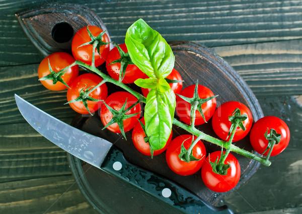 Tomaat vers tabel natuur tuin Stockfoto © tycoon