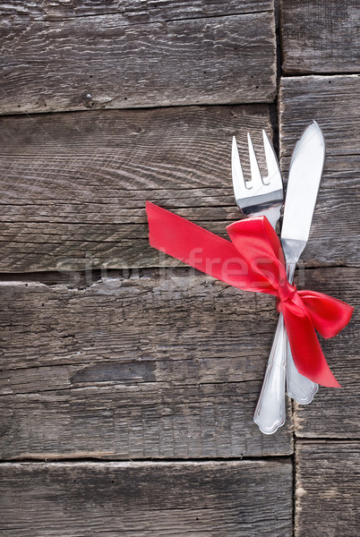fork and knife Stock photo © tycoon