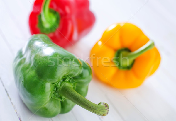 color pepper Stock photo © tycoon