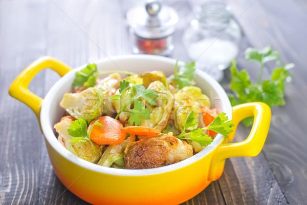 Foto d'archivio: Verdura · alimentare · seno · pollo · cena