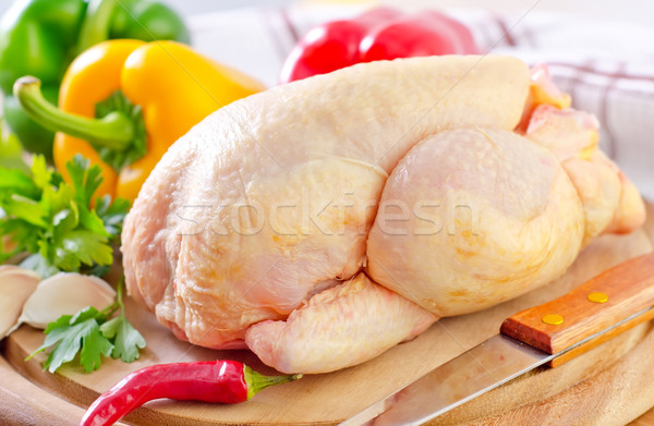 chicken and vegetables Stock photo © tycoon