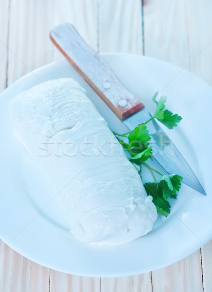 mozzarella  Stock photo © tycoon