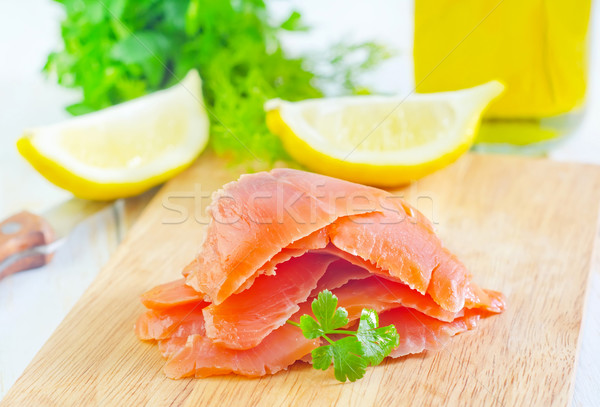 salmon Stock photo © tycoon
