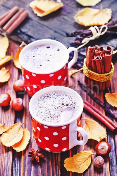 Сток-фото: пить · Кубок · аромат · Spice · продовольствие · кофе