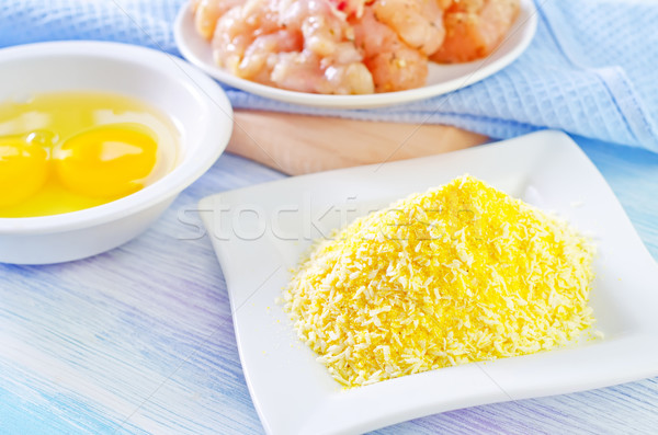 ingredients for nuggets Stock photo © tycoon