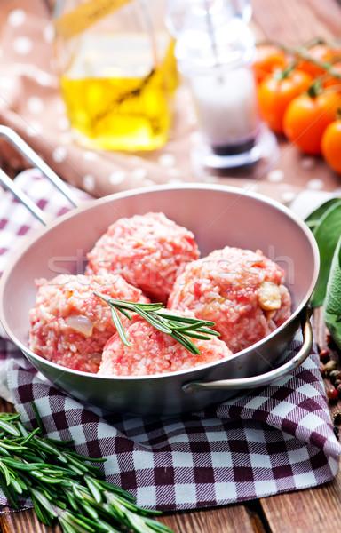 meat balls Stock photo © tycoon