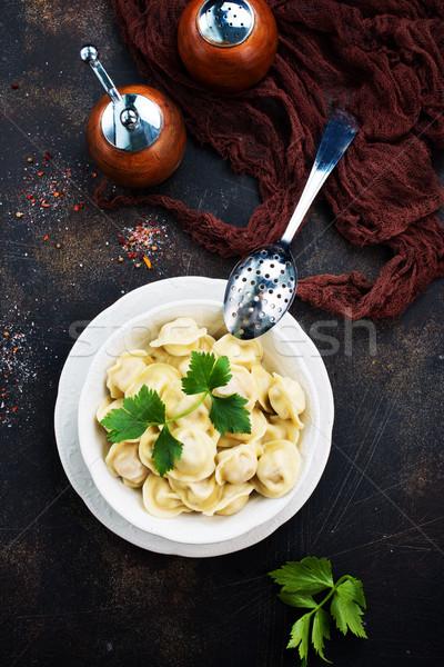 pelmeny Stock photo © tycoon