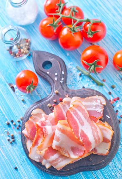 Foto stock: Madeira · vermelho · gordura · cozinhar · conselho · pimenta