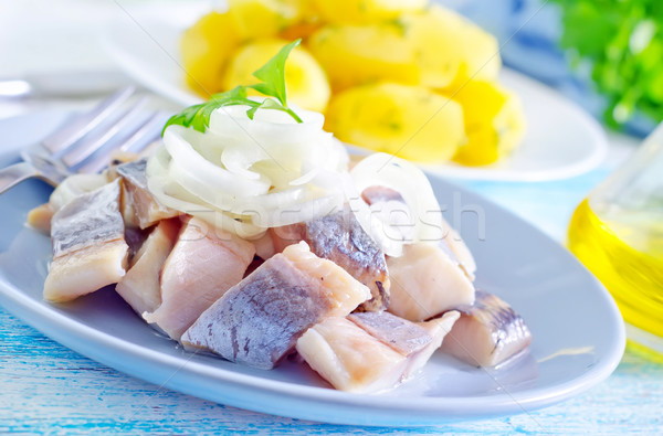 herring Stock photo © tycoon