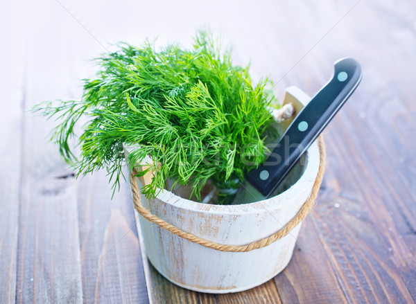 fresh dill Stock photo © tycoon