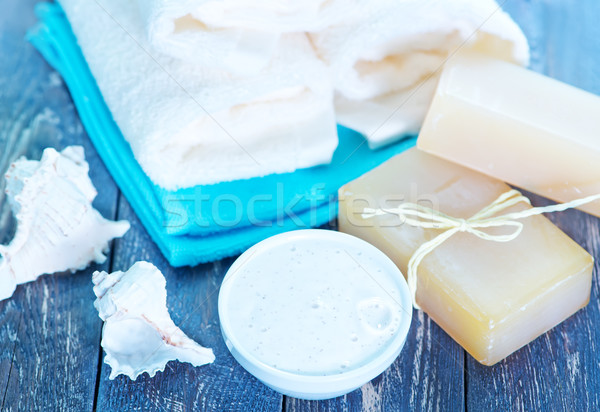 Soap and Body Lotion Stock photo © tycoon