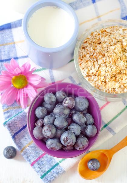 Gıda ayçiçeği mısır enerji kahvaltı üzüm Stok fotoğraf © tycoon