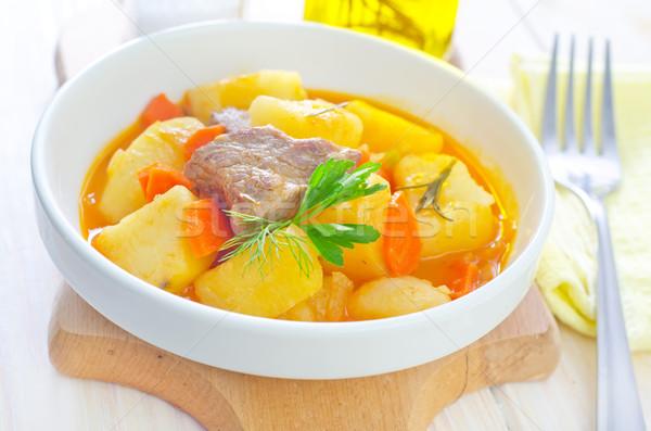 Соус говядина картофель