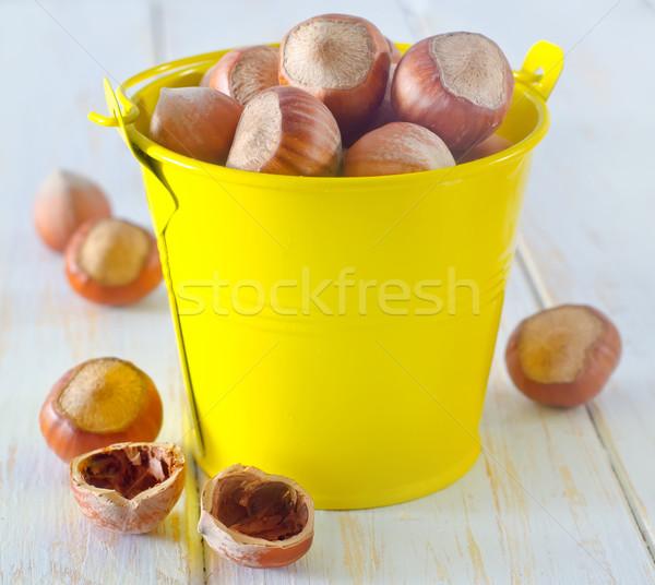 Saúde fundo gordura concha branco Foto stock © tycoon